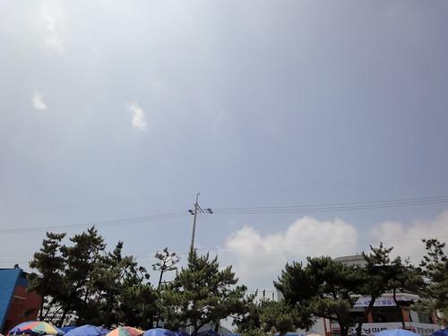 너무나 푸르른 하늘...