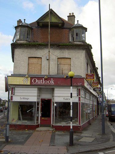 'Outlook' building - now demolished