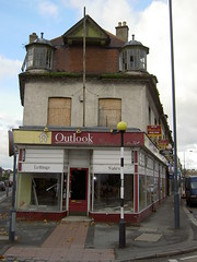 The derelict Outlook building
