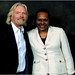 Richard Branson with Marlene Green
