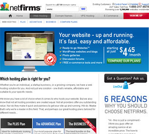 NetFirms Contact Information