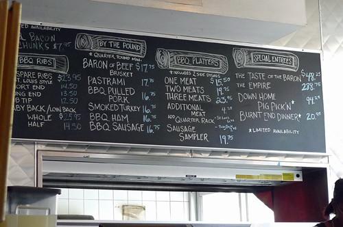 RUB menu