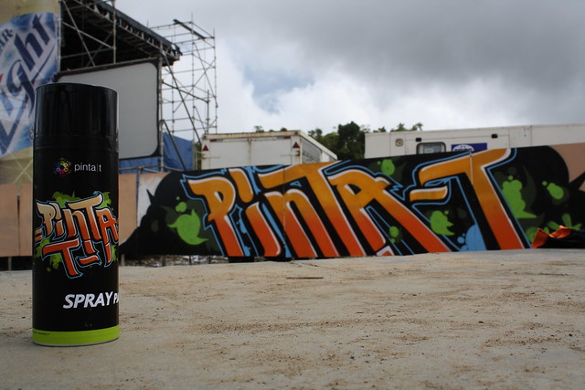 PINTA T COLORS SPRAY PAINT
