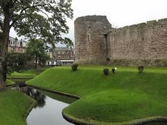 Moaty (Bricheno) Tags: castle reflections scotland escocia moat szkocja schottland bute rothesay scozia cosse isleofbute rothesaycastle  esccia   bricheno scoia