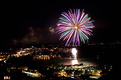 (Aaron_S.) Tags: summer switzerland fireworks august1 neuchatel swissnationalday
