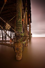 Under Hastings Pier (Ian A Robertson) Tags: 20d ex canon fire eos for sussex pier dc under sigma down before it east burnt hastings 1020mm destroyed burned f456 hsm nd110