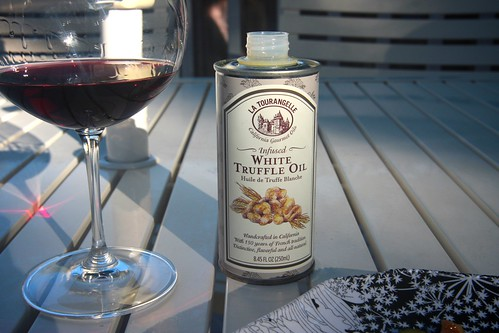 white truffle oil!