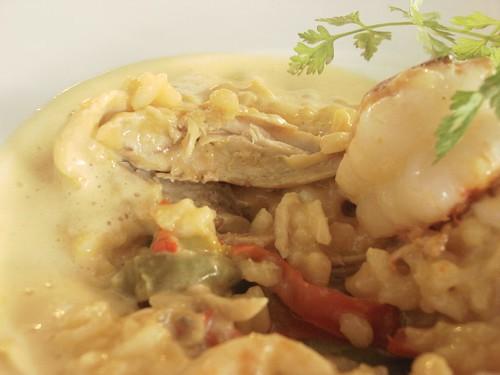 nathalie gourmet studio - risotto paella2