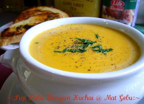 Sup Labu Dengan Kuchai