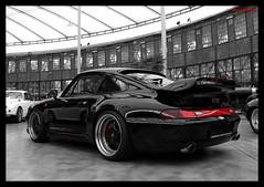 Porsche 993 Gemballa Turbo (Chris Wevers) Tags: 911 turbo porsche dsseldorf 993 meilenwerk gemballa 2s chriswevers