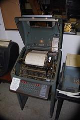 Teletype Model 28 KSR, Museum of Communications, Seattle, WA