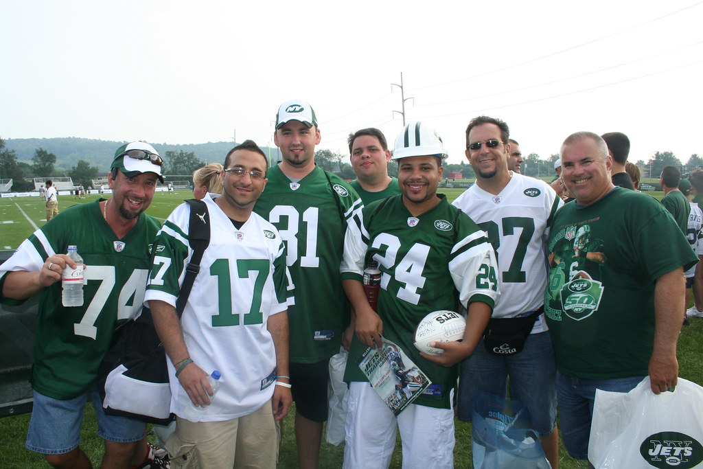 #FollowJetsFans at Jets Training Camp