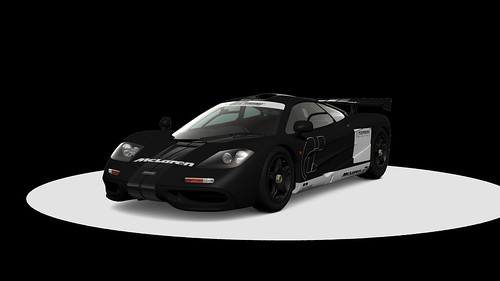 McLaren F1 Stealth Model