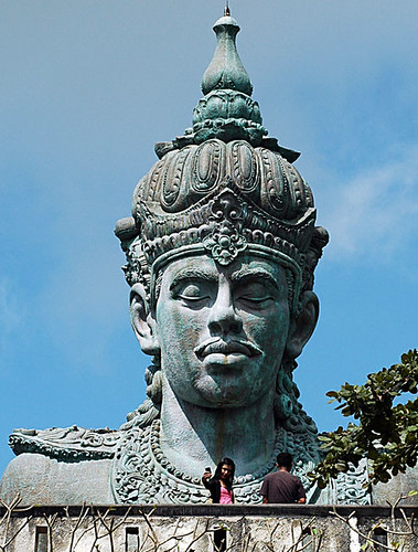 Vishnu at the GWK (Mandala Garuda Wisnu Kencana) cultural park in  Bali