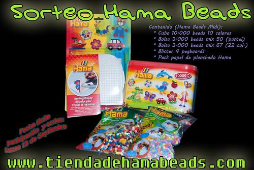 5º Sorteo Hama Beads: 16.000 beads Midi + 4 placas/pegboards + papel de planchado