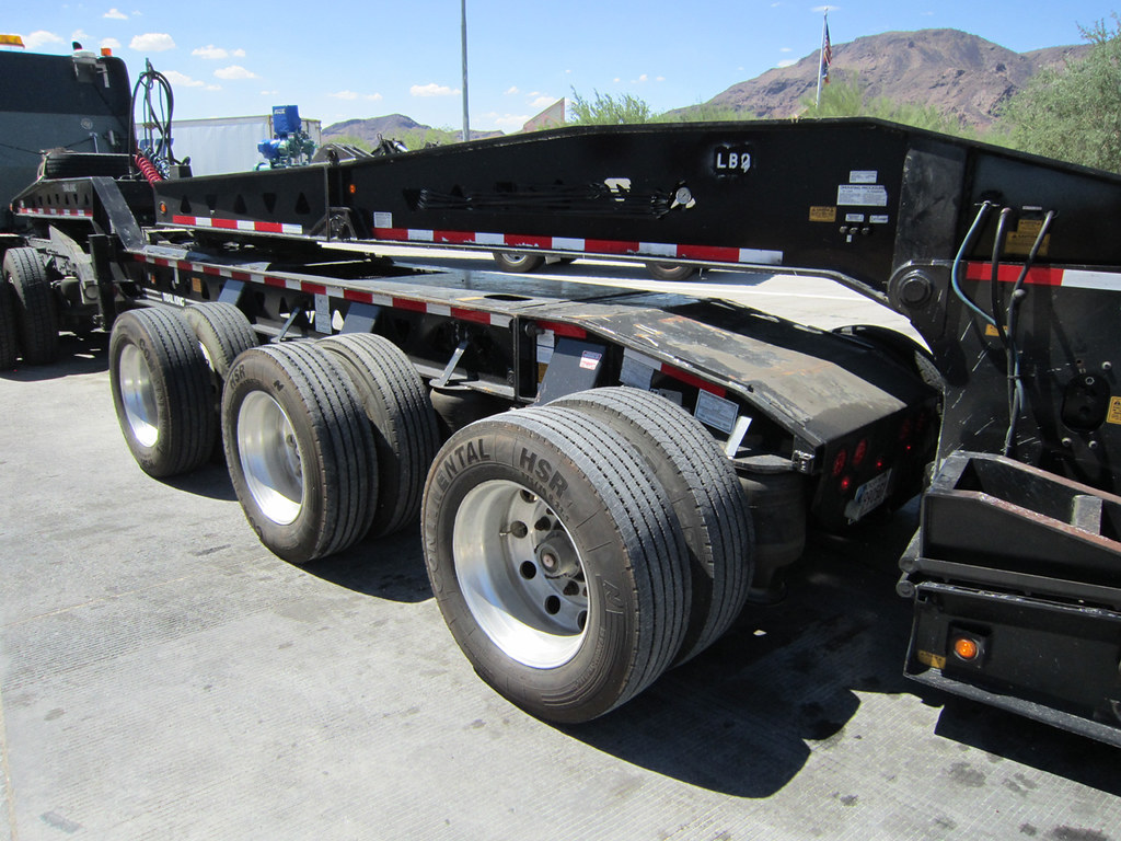 Big, big trailer!
