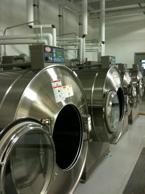 Green Washing Machines at Cleveland's Evergreen Laundry Cooperative