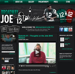 BroadwayJoe.tv Launches