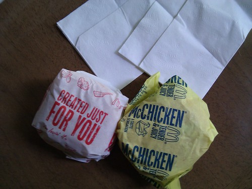 McChicken and McDouble