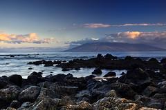 Wailea Sunrise (Shannon Cayze) Tags: ocean water sunrise landscape hawaii sand rocks scenic maui shannon 5d canon5d canonef2470mmf28lusm circularpolarizer 2470mm gnd bwcircularpolarizer graduatedneutraldensity cayze 5dmarkii canon5dmarkii shannoncayze hitech3stopgnd hitech2stopgnd
