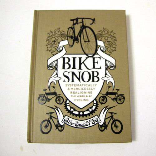 Book_BikeSnob1, Book Cover Design