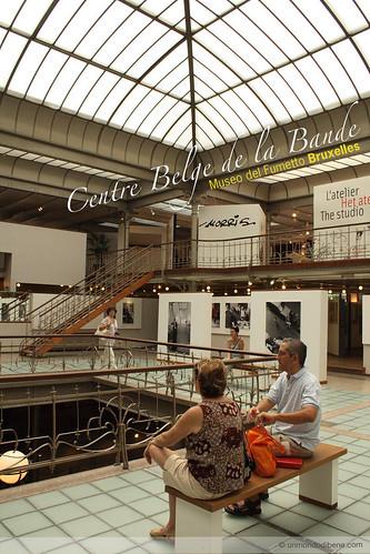 Centre Belge de la Bande • Museo del Fumetto Bruxelles