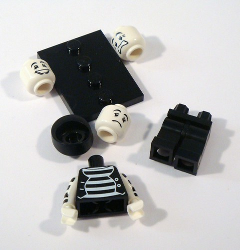 LEGO Collectable Minifigs Series 2 Mime
