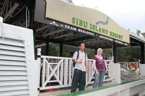 at Sibu Island Resort