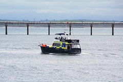 Police Motor Launch (Robert D Thomas) Tags: wales port boat harbour north police motor launch breakwater anglesey northwales holyhead