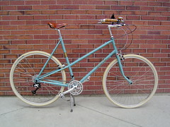 My Betty Foy (knittinglemonade) Tags: brooks b17s rivendell mixte bettyfoy deltacruisers