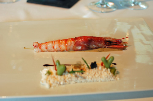 Charcoal-Grilled King Prawn