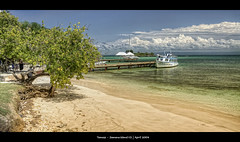 243/365 - HDR - Samana.Island.@.1200x616 (Pawel Tomaszewicz) Tags: ocean camera new blue trees sea sky cloud holiday tree beach colors clouds canon island photography bay pier boat photo sand europe dominican republic foto angle coconut dr jetty small wide creative wideangle ps abroad caribbean fotografia bacardi molo hdr hdri aparat wakacje samana dka morze chmury niebo lato 3xp photomatix pomost greatphotographers wyspa nibo karaiby 1200x800 dominikana fotografowie polscy wysepka nibieskie drbacardi