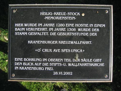 Heilig-Kreuz-Stock