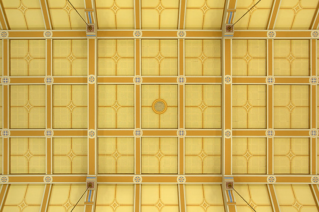 Saint Anthony Roman Catholic Church, in Lemay, Missouri, USA - ceiling