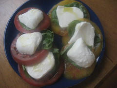 Lunchtime caprese