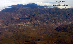 Aeriel View of Quilotoa and Chugchilan (Black Sheep Inn) Tags: blacksheepinn chugchilan lagunaquilotoa