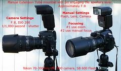 Manual Extension Tube Set-up