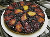 Plum and Blueberry Upside-Down Torte