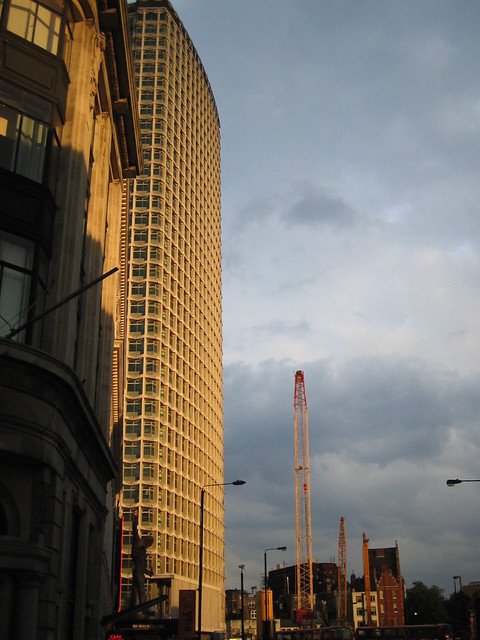 Centre Point in evening light