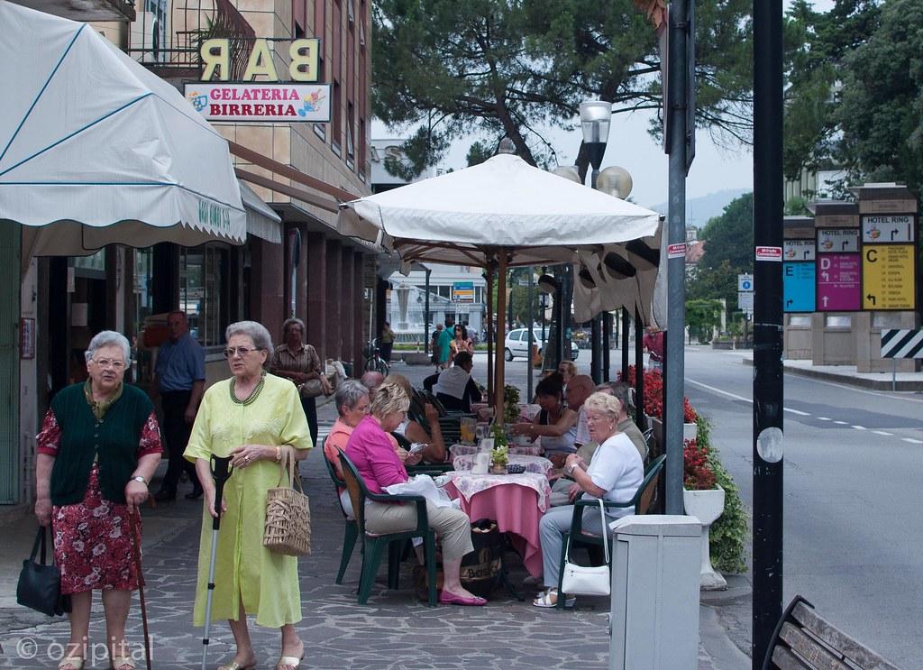 Abano Terme - Street Life
