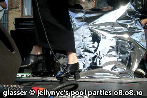Glasser at JellyNYC Pool Parties, Williamsburg Waterfront, August 8, 2010