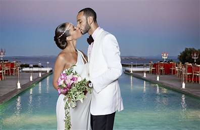 Alicia Keys & Swizz Beatz Get Married by ONESHOT2FAME