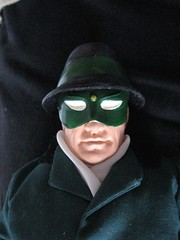 The Green Hornet White Out Eye Mask 0608 (Brechtbug) Tags: nyc portrait hot green eye film mike movie private toy toys book newspaper uniform comic fighter action secret battle super daily double crime figure spy reid agent hornet britt hazard sentinel detective publisher the donning vigilante guise