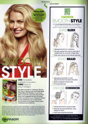 illustrations for Marie Claire- Garnier