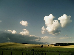 (Gilles S) Tags: trees sky clouds rural landscape countryside burgundy country champs ciel fields nuages bourgogne campagne paysages iphone lanscapes gillessaulnier