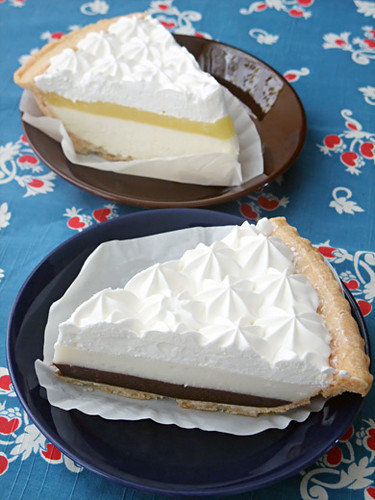 haupia cream pie & cheese pie