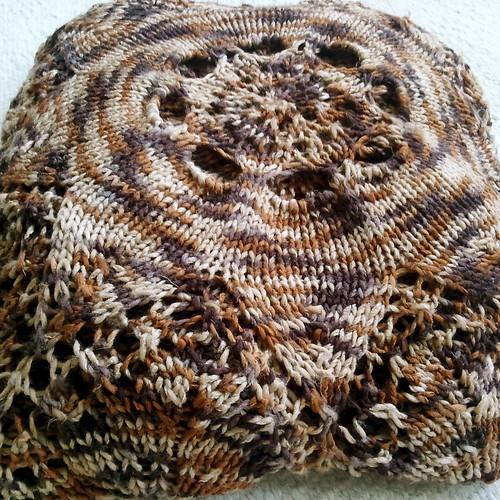 FO; Hemlock Ring Blanket