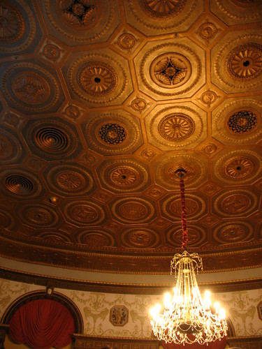 ceiling of the Biltmore Grand Ballroom
