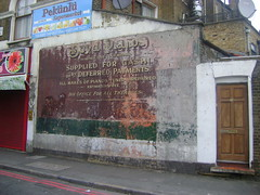 Boyd Pianos Ghostsign Shacklewell Lane