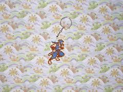 Chaveiro Ninja Gaiden (inversecraft) Tags: keychain crossstitch nes chaveiro ninjagaiden pontocruz